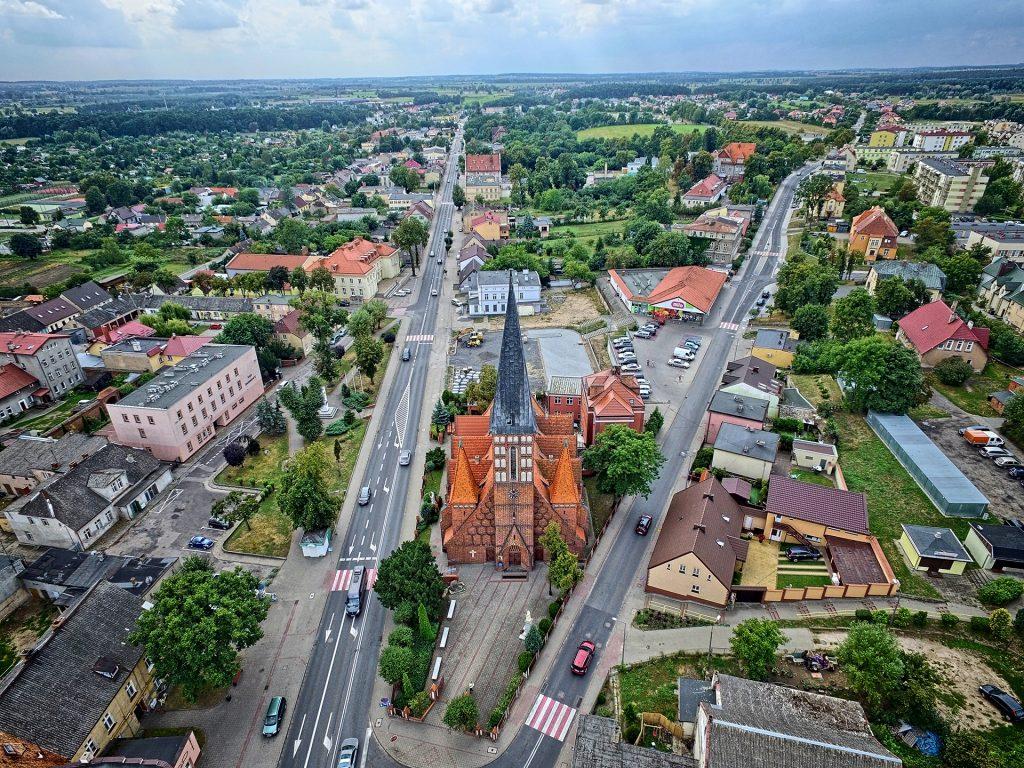 najlepszy operator drona na ślub w Bydgoszczy