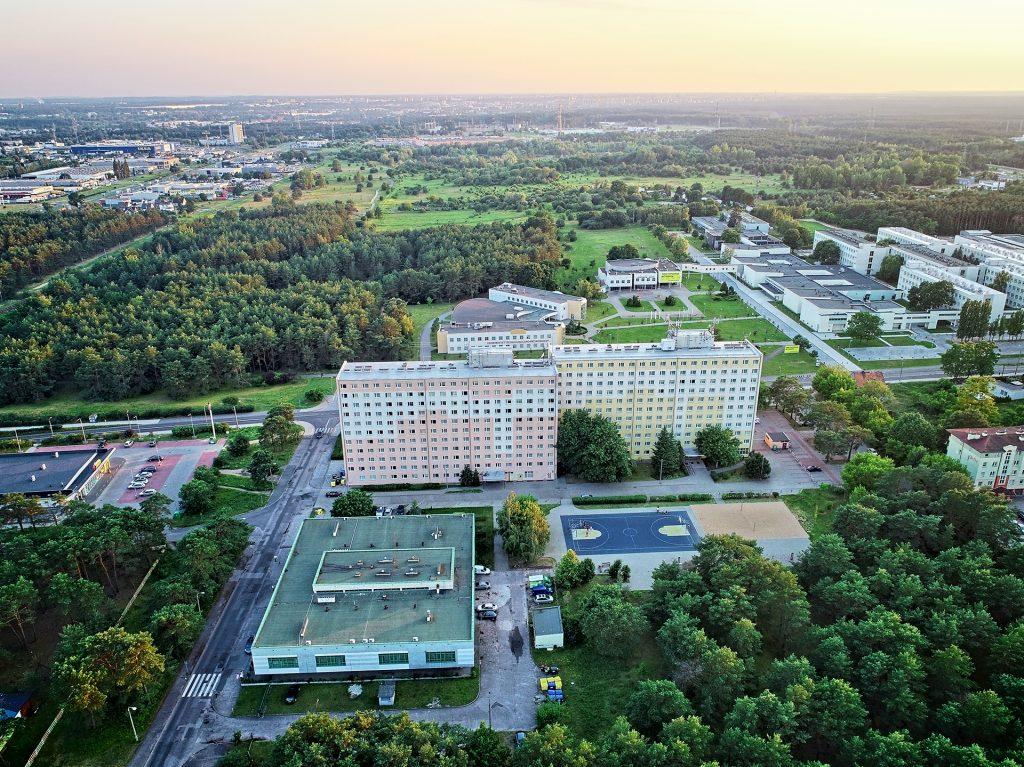 Bydgoszcz, Niemcz, Osielsko operator drona
