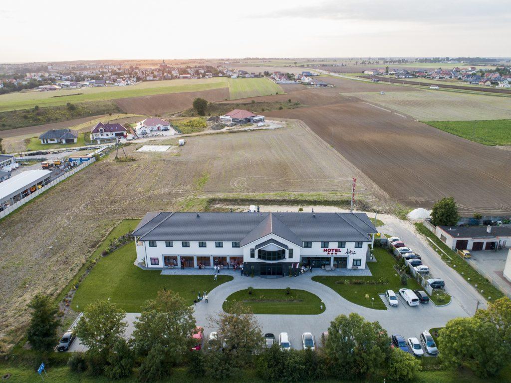 dron ślub wesele Bydgoszcz