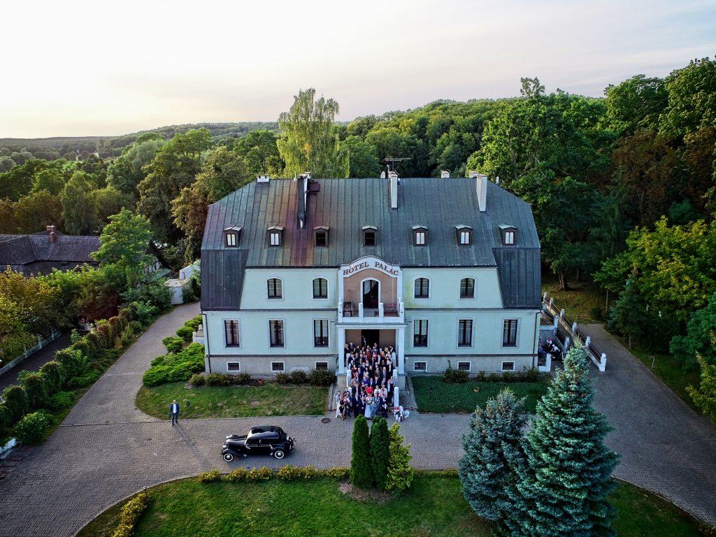 sesja ślubno-weselna z drona Bydgoszcz i okolice Myślęcinek