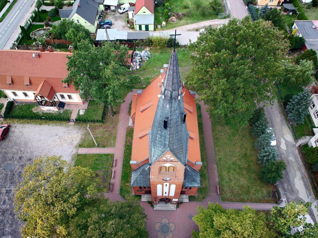 dron ślub Bydgoszcz
